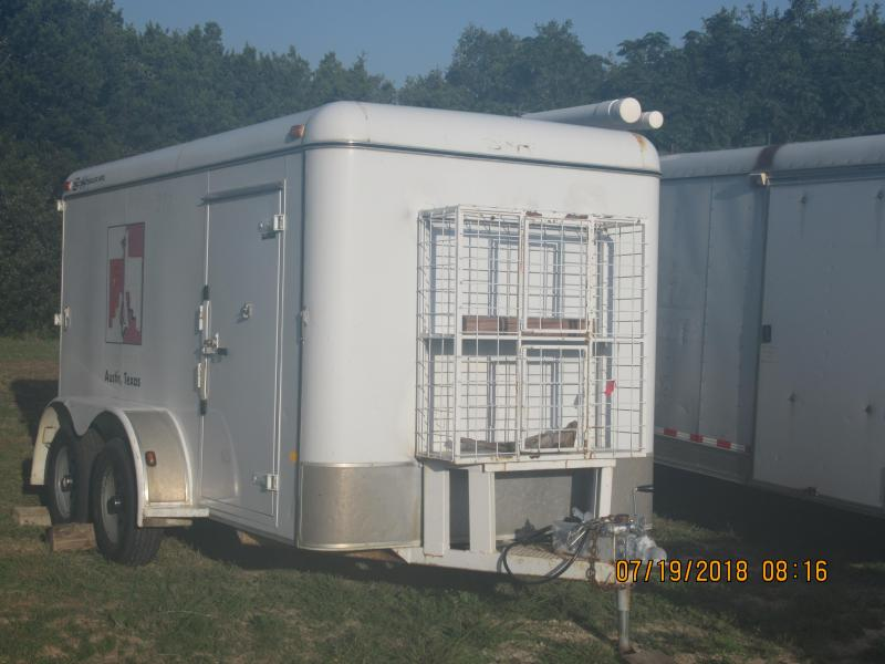 2003 S and H Trailers 6x12TA Enclosed Cargo Trailer