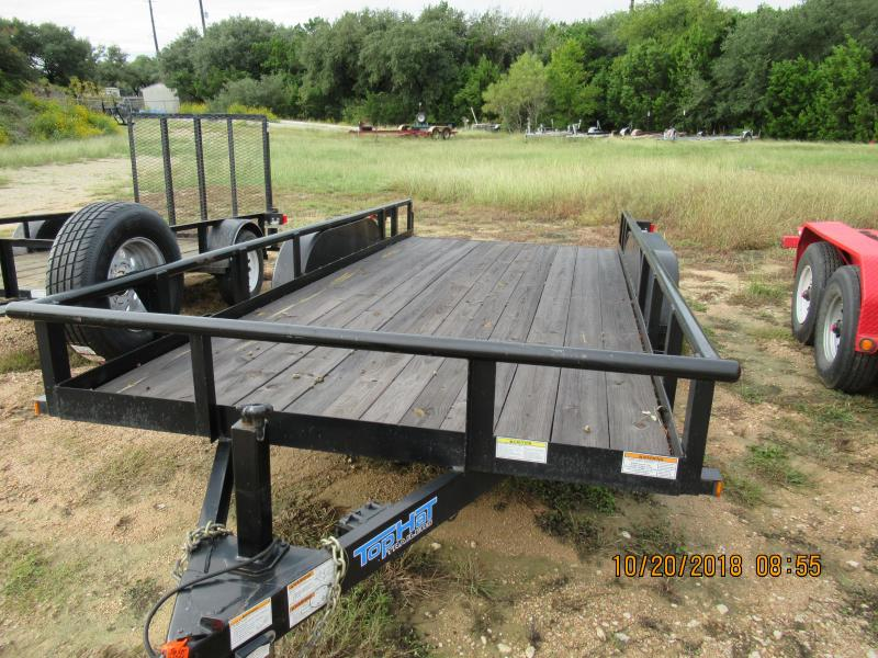 2016 Top Hat Trailers 16HP Utility Trailer