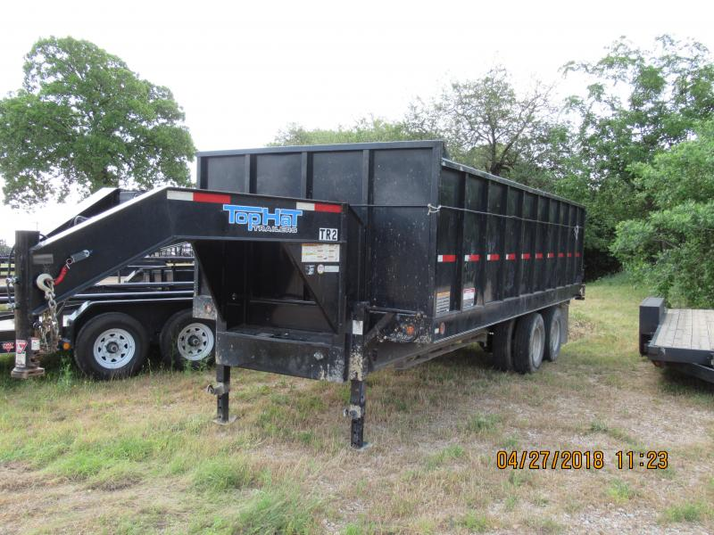 2013 Top Hat Trailers 8x20GNDU Dump Trailer