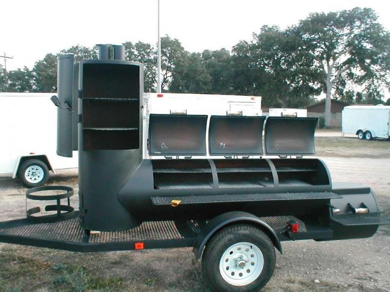 Trailer bbq pits san antonio autos post for Q kitchen bar san antonio