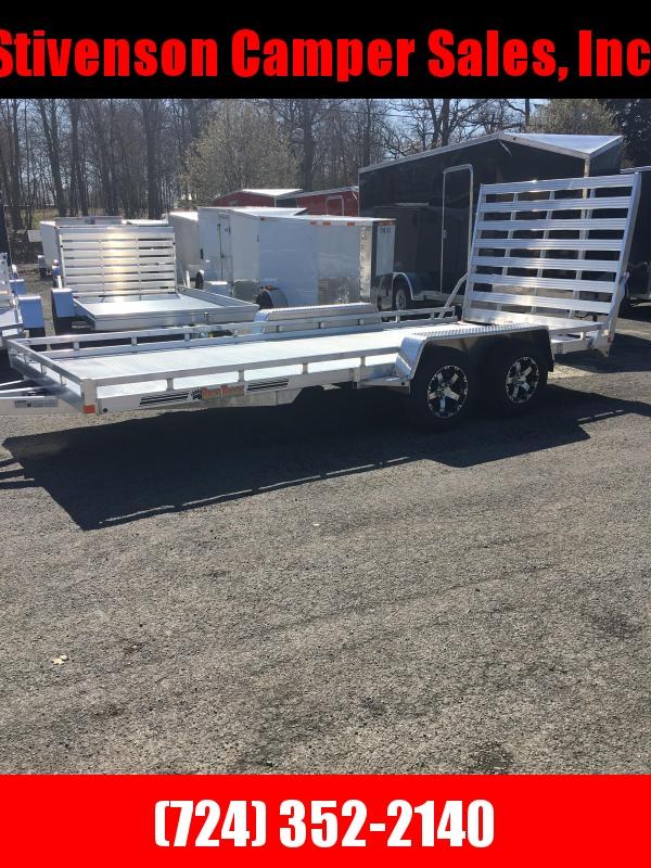 2018 Bear Track Products BTT81194S Heavy Duty Utility Trailer