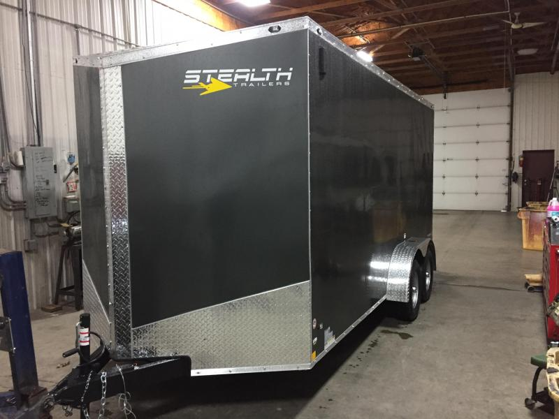 2018 Stealth Trailers S18TSE716TA2 Enclosed Cargo Trailer