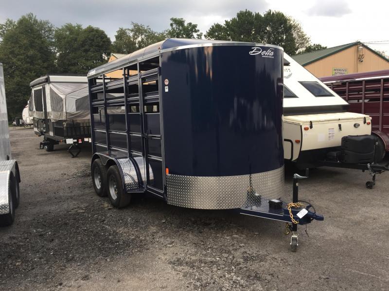 2018 Delta Manufacturing Horse Trailer