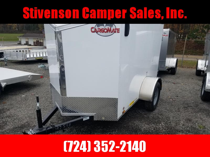 2018 Cargo Mate EHW58SA Enclosed Trailer