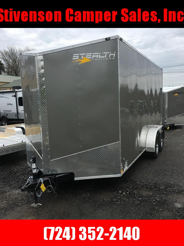 2019 Stealth Trailers 7X16 Tandem Axle Utility Trailer