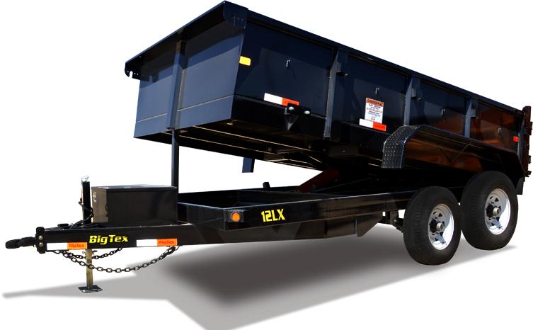 2018 Big Tex Trailers 14LX-12 Dump Trailer