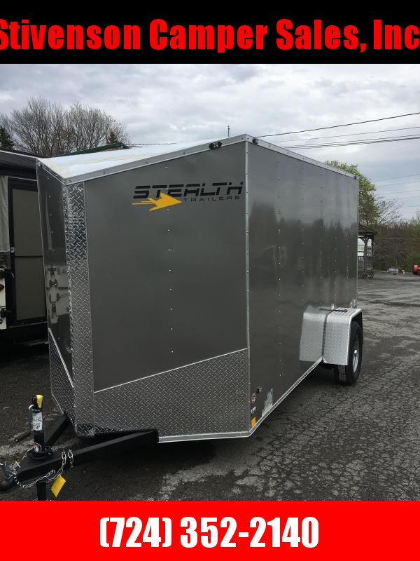 2019 Stealth Trailers 6x12 Single Axle Utility Trailer