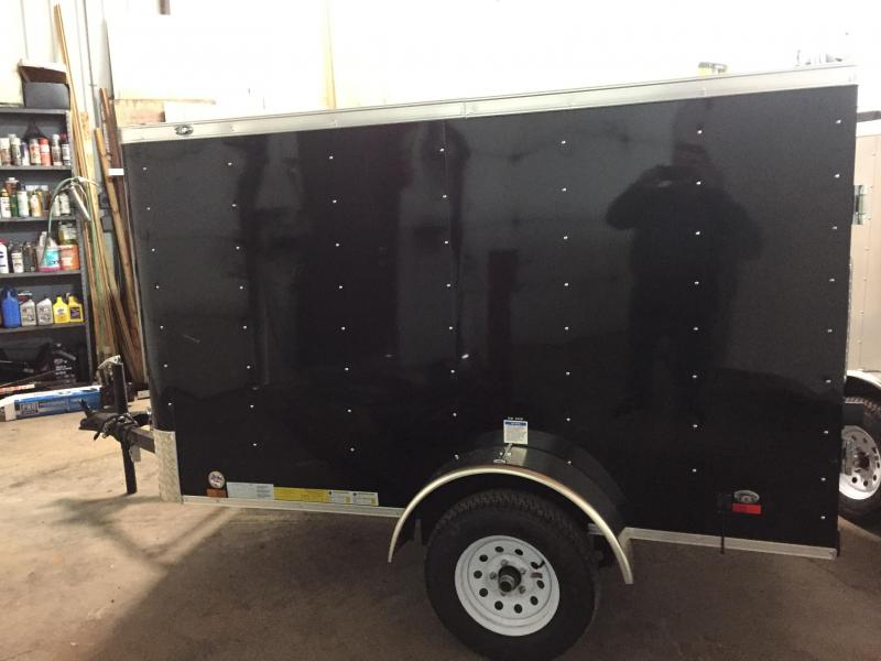 2018 Cargo Mate SS58SA Enclosed Cargo Trailer