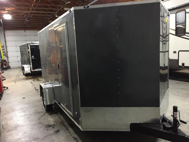 2018 Stealth Trailers STET712SA (Flat Top Wedge) Enclosed Cargo Trailer