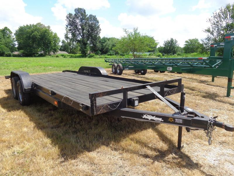 USED 2012 EAST 18' +2' Flatbed Car / Racing Trailer