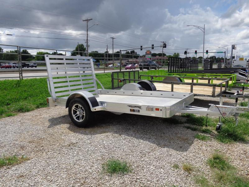 Hillsboro 70 x10' Aluminum Bumper Pull Utility Trailer