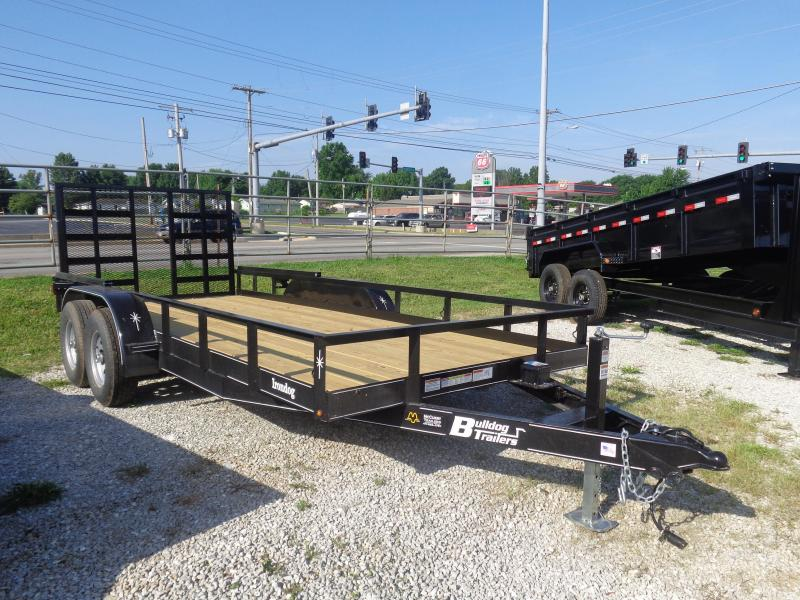 Bulldog 76 x 16' Straight Deck Heavy Duty Utility Trailer