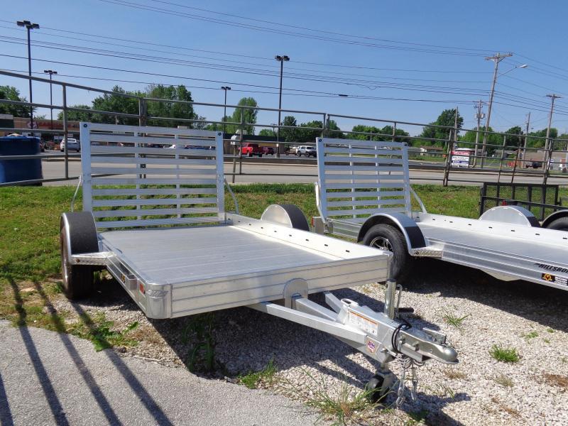 Hillsboro 70 x 12' Bumper Pull Aluminum Utility Trailer