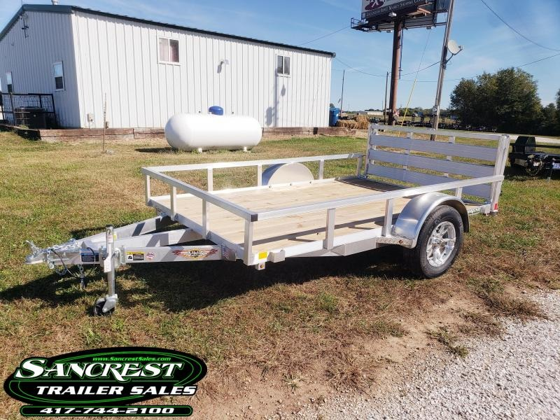 2019 H and H Trailer  ALUMINUM SINGLE AXLE 76 X 10