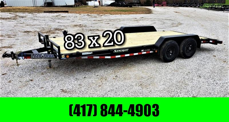 "2019 Load Trail 83"" x 20' Tandem Axle Carhauler W/ 5200 LB. AXLES"