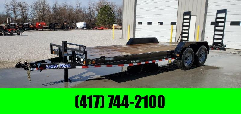 2019 Load Trail 83X22 TANDEM 14K EQUIPMENT/CAR HAULER W/STAND UP RAMPS