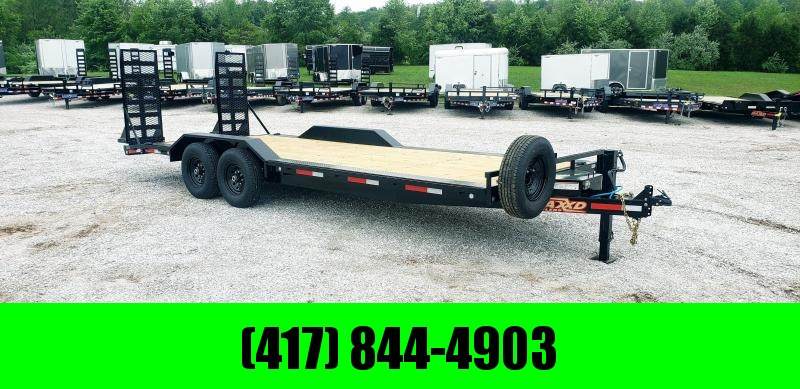"2019 MAXXD 102 X 22 6"" CHANNEL BUGGY HAULER W/ 7Ks"
