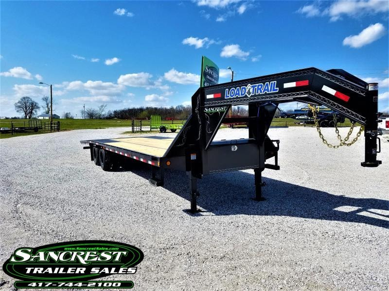 "2018 Load Trail 102"" x 32' Tandem Low-Pro Gooseneck w/Hyd. Dove"