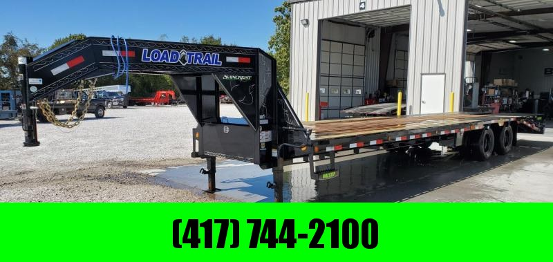 2019 Load Trail 102X32(27+5) TANDEM LO-PRO GOOSENECK W/ 12K AXLES(HYD. DISC) & MAX RAMPS