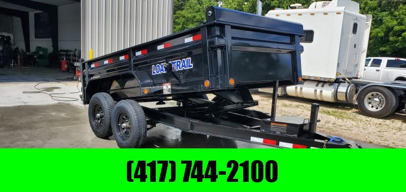 2019 Load Trail 72X12 TANDEM 10K DUMP W/MAX STEP SPARE MOUNT & RAPID CHARGING SYSTEM