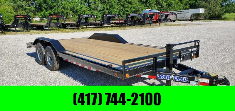 2019 LOAD TRAIL 102X20(18+2) TANDEM 14K CAR HAULER W/SLIDE OUT RAMPS