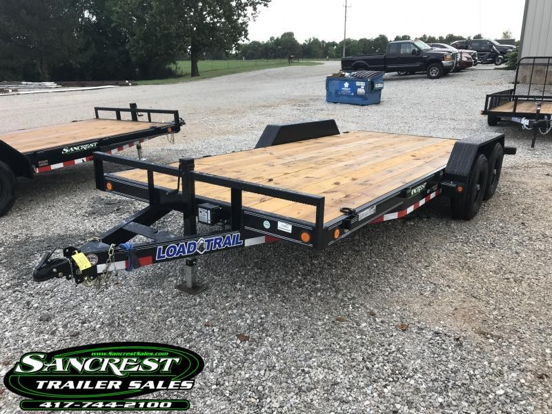 2019 Load Trail 83X18 TANDEM AXLE CAR HAULER W/5200 AXLES