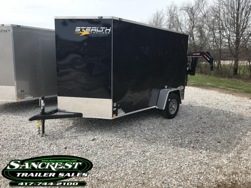 2018 Stealth Trailers 6 X 10 Enclosed Cargo Trailer