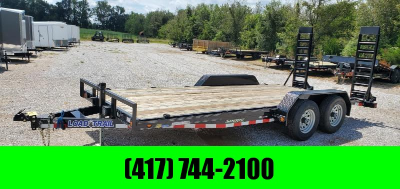 2019 Load Trail 83X18 (16+2) TANDEM 10K CAR/EQUPMENT HAULER W/STAND UP RAMPS
