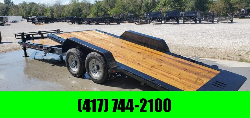 2020 Load Trail 83X24(16+8) TANDEM 14K GRVITY TILT EQUIPMENT HAULER