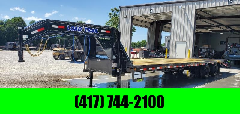 2019 Load Trail 102X32 TANDEM LO-PRO GOOSENECK W/10K AXLES MAX RAMPS TORQUE TUBE & UNDER BRIDGING