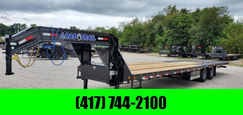 2020 Load Trail 102x36 TANDEM LO-PRO GOOSENECK W/10K AXLES HYDROTAIL & HYDROJACKS