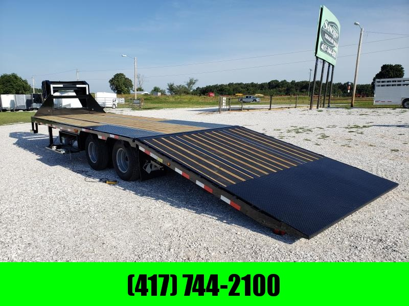 2020 LOAD TRAIL 102 X 30 TANDEM LO-PRO GOOSENECK W/10K AXLES 10' HYDROTAIL HYDROJACKS