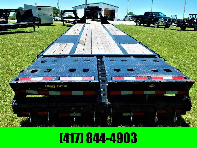 2019 BIG TEX 102 X 35 GOOSENECK W/ MEGA RAMPS(((((HOT SHOT READY)))))