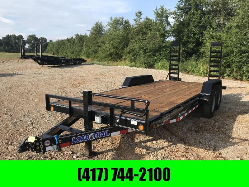 2019 Load Trail 83X20 Equipment Trailer W/FLIP UP RAMPS