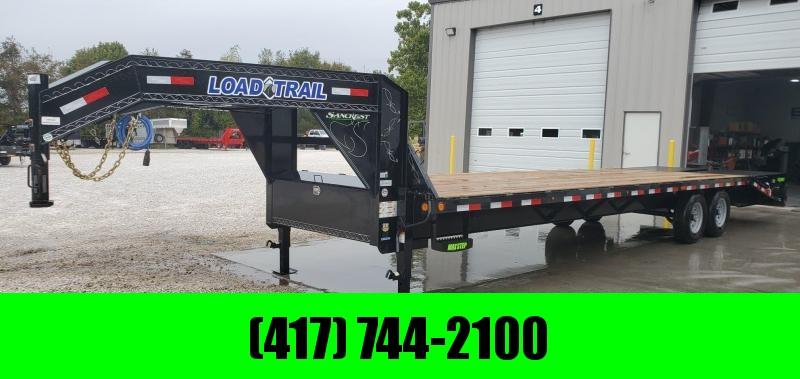 2019 Load Trail 102x30(25+5) TANDEM 14K GOOSENECK W/ MAX RAMPS