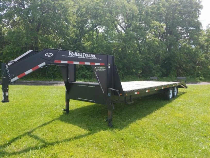 2012 EZ Hauler GOOSENECK Equipment Trailer