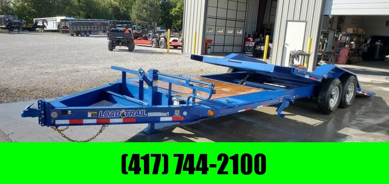 2020 Load Trail 102X22(16+6) TANDEM 14K TILT-N-GO CAR/EQUIPMENT HAULER