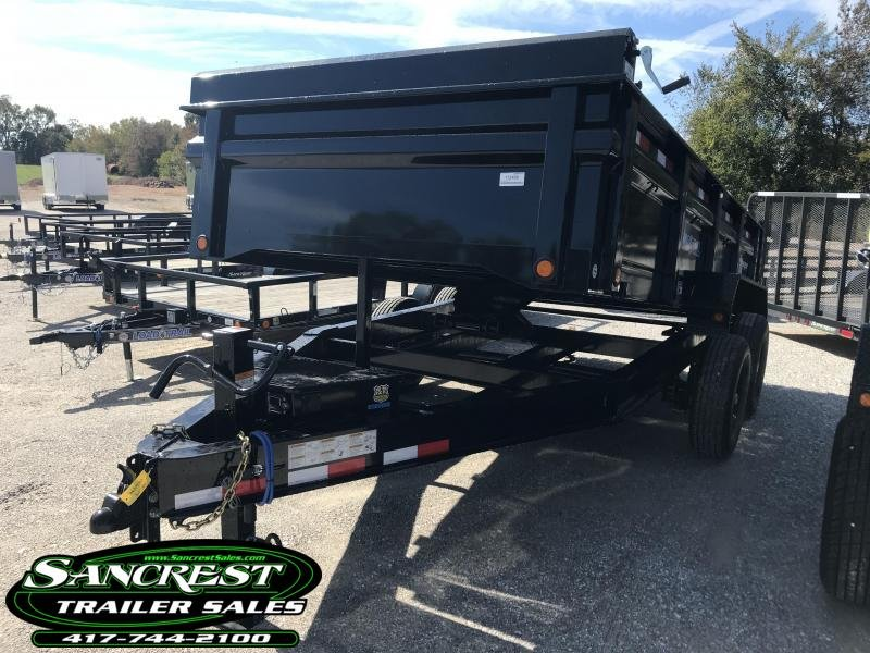 2019 Load Trail 83X14 Dump Trailer W/7K AXLES MAX STEP SPARE TIRE MOUNT AND 8 AMP RAPID CHARGER