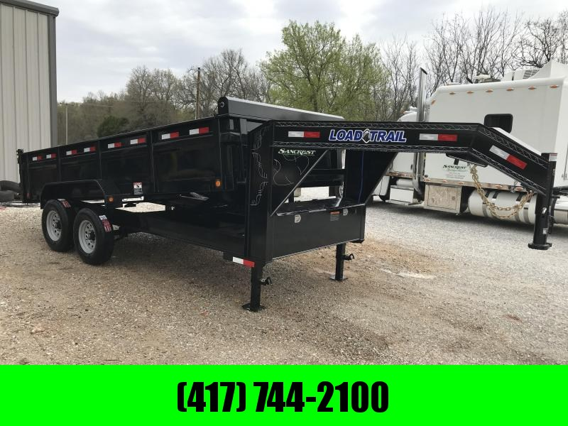 2019 Load Trail 83X16 TANDEM GOOSENECK DUMP W/7K AXLES