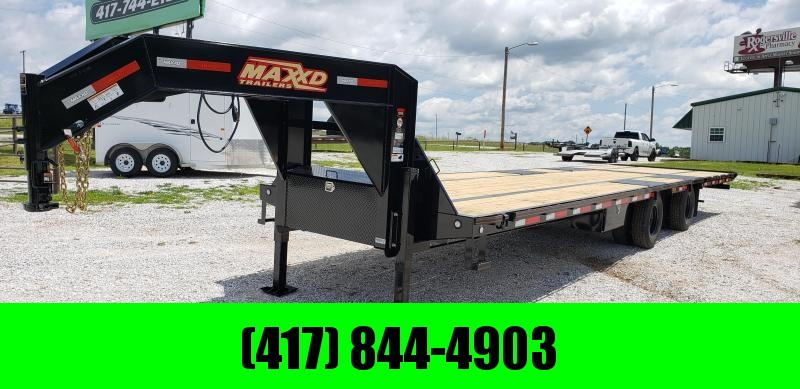2019 MAXXD 102X34 TANDEM LO-PRO HYDROTAIL/HYDRO JACKS W/ 72''SPREAD AXLE