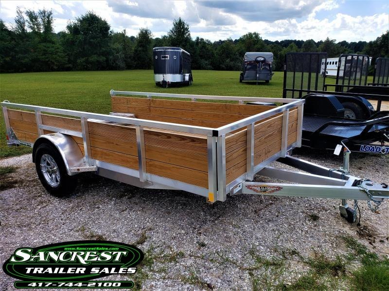 2019 H and H Trailer H&H Wood Side Single Axle Utility Trailer