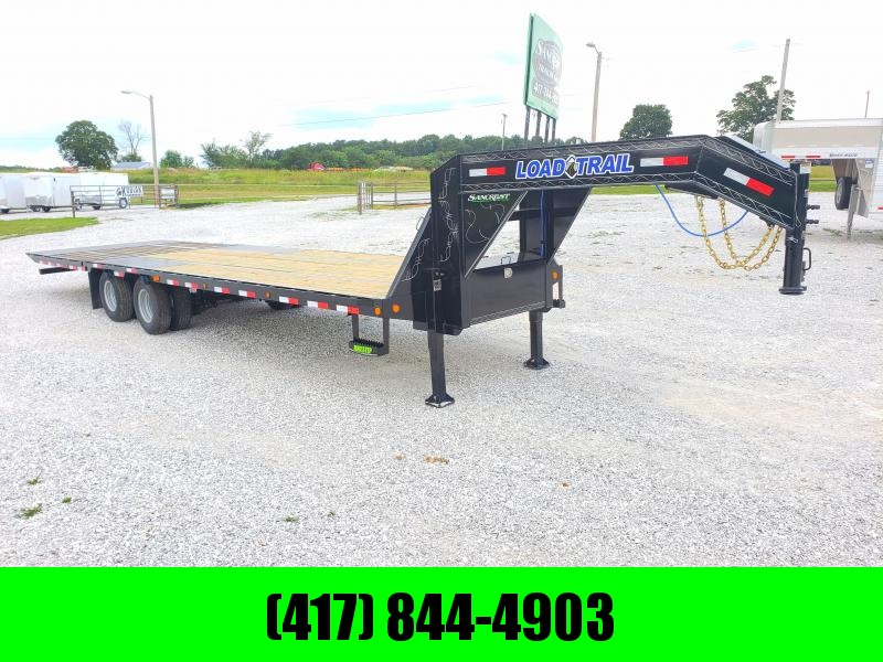 2019 Load Trail 102X32 TANDEM LO-PRO GOOSENECK W/10K AXLES 10' HYDROTAIL HYDROJACKS