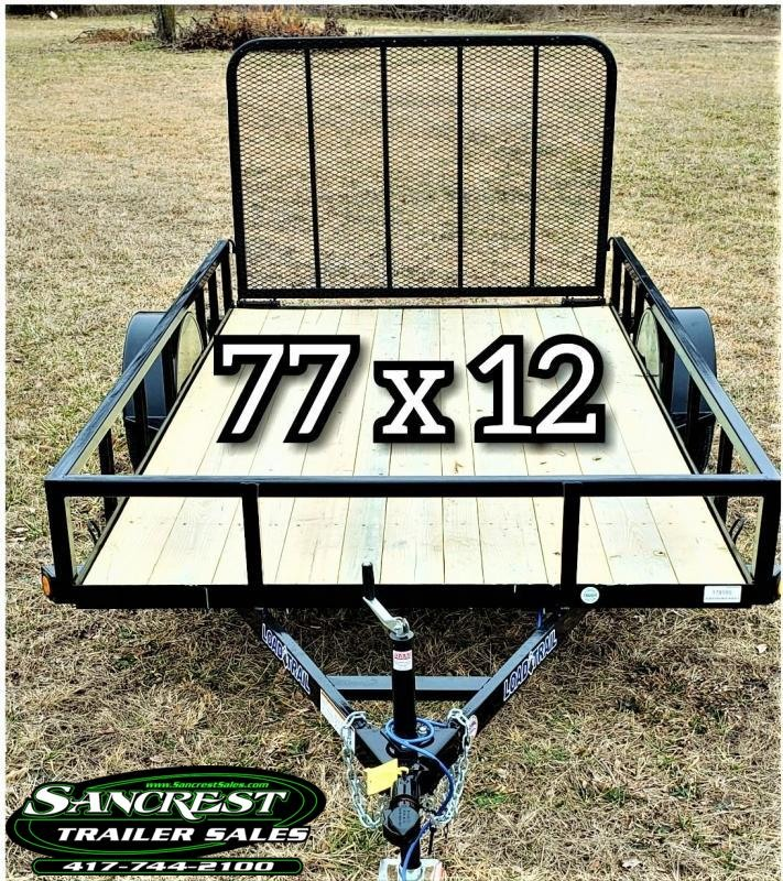 2019 LOAD TRAIL 77 X 12 UTILITY TRAILER!  !!!SALE!!!!  $ 1400.00