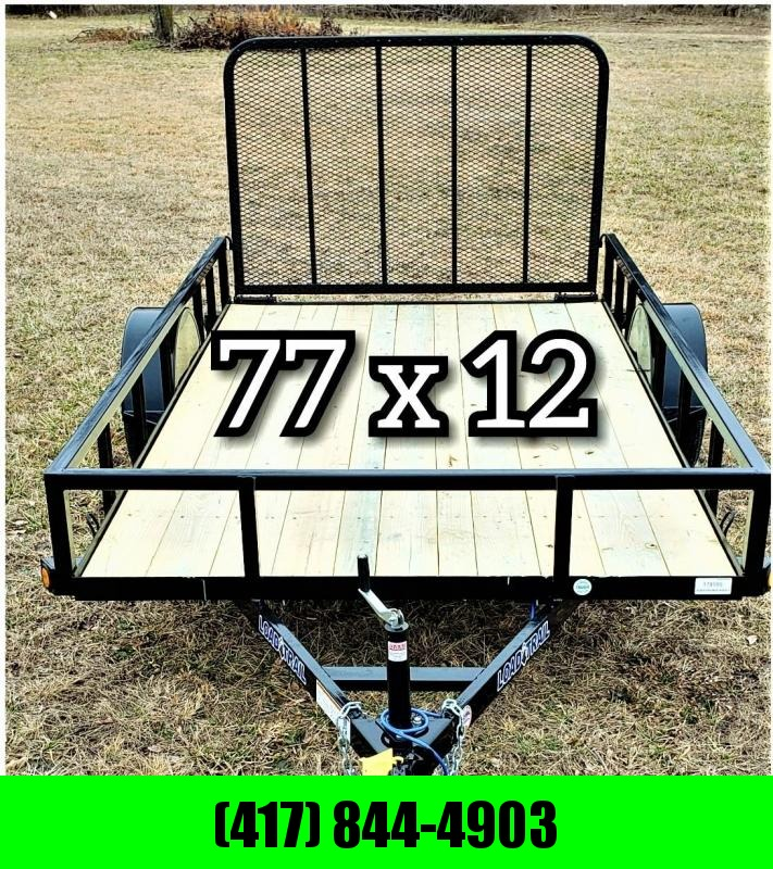 2019 LOAD TRAIL 77 X 12 UTILITY TRAILER!  !!!SALE!!!!  $ 1400.00
