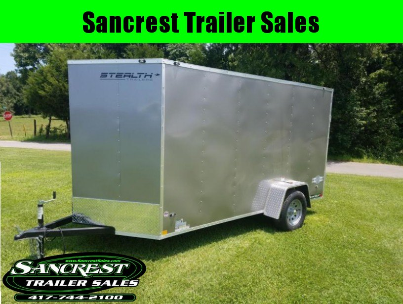 2018 Stealth Trailers  Enclosed Cargo Trailer METALLIC PEWTER