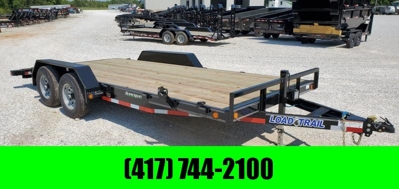 2019 Load Trail 83X18 (16+2) TANDEM 10K CAR HAULER W/ SLIDE-OUT RAMPS