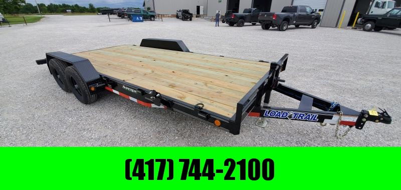 2019 Load Trail 83X18(16+2) TANDEM 10K CAR HAULER W/ SLIDE-OUT RAMPS