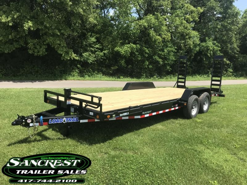 2018 Load Trail 83X22 Equipment Trailer W/FLIP UP RAMPS