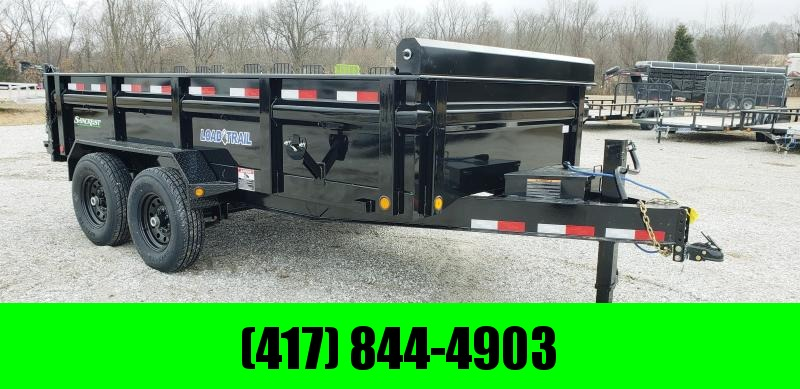 2019 LOAD TRAIL 83X14 TANDEM DUMP W/ SLIDE OUT RAMPS