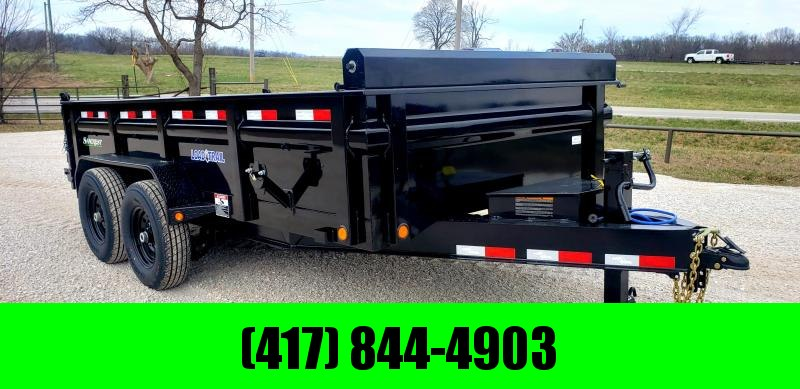 2019 Load Trail 83x14 TANDEM LOW-PRO Dump Trailer W/7K AXLES